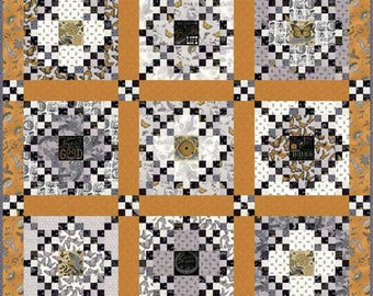 Bee Inspired Quilt Kit by Deb Strain for Moda Fabrics
