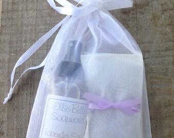 Lavender Laundry Gift Set, linen spray, dryer sachets, housewarming gift, gift for her, lavender gift