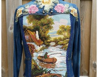 M Embellished Jacket Coat *Little Boat* Boho