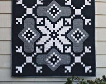 Mini Sweater Weather DIGITAL pdf Quilt Pattern by Cora's Quilts (#1613)