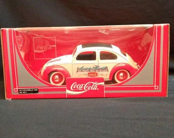 1958 coca cola rag top vw beetle