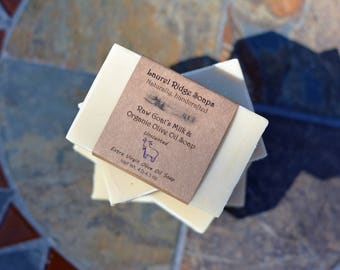 Four Bars Deal...Raw Goat's Milk and Organic Olive Oil Soap