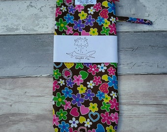 Wet bag, brolly,bag, umbrella, swimming costume, flowers,  mini size, pink, yellow, blue