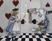 House of Cards No. 1  18x24 CANVAS giclée  with deep black edges