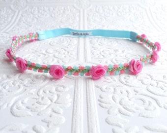 The Rosalind's Rose Headband