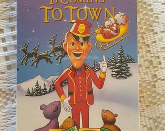 1970s Santa Clause is Coming to Town Christmas Classic VHS Tape NEW In original wrap