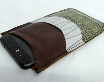 recycled sail wallet, phone case, kevlar, sailcloth