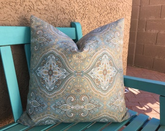 Decorative Pillows for Couch - Spa Blue Decorative Pillows for Couch