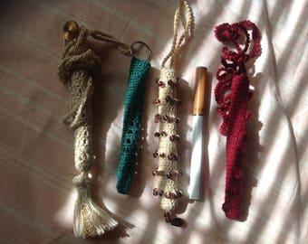 E-cig Pouch necklace - assorted designs
