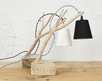 Olive wood Table Lamp branch lamp Cottage chic lamp table light Handmade lamp home decoration bedside lamp unique lamp wood lamp rustic lamp