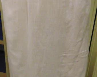 "Victorian White Petticoat, Waist 34"""