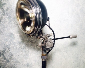 Vintage Harley Davidson healight lamp