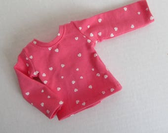 """14.5"""" Doll Shirt - 14.5 Inch Girl Doll Clothes - American Made Doll Clothes"""
