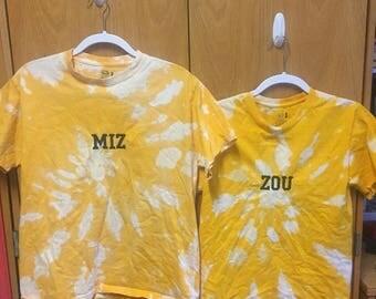 MIZ-ZOU embroidered Tshirt set