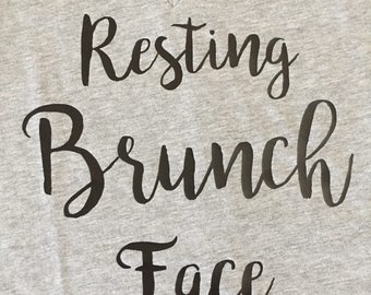 Resting Brunch Face V neck