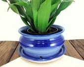Small ceramic planter flo...