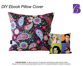 Ebook PDF Tutorial Pillow Cover with Zipper