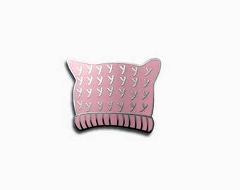 Pussy Hat Enamel Pin from women's march - feminist pin lapel pin pink