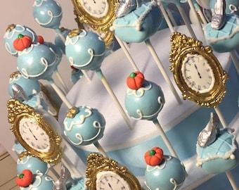 Cinderella Cake Pops, 12 pops