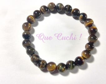 Tiger Eye Bead Bracelet