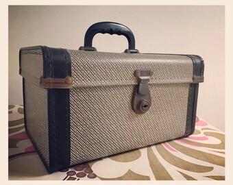 Vintage Case - Moc Croc - circa 1950's