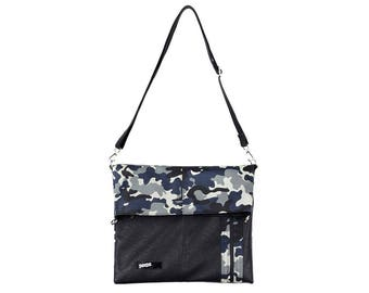 Camo Bag Camouflage Messenger Bag Cross Bag Crossbody College Bag School Bag 195