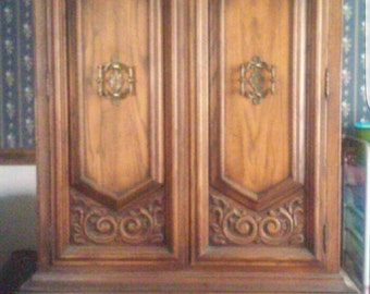 Vintage Armoire-available for custom painting