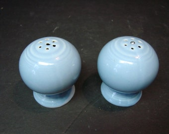 FIESTAWARE Fiesta Ware Ball Salt & Pepper Shakers Blue