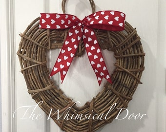 Heart Wreath Grapevine heart wreath grapevine wreath