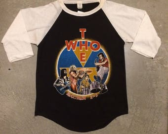 Vintage The Who 1979 Madison Square Garden Raglan T-Shirt