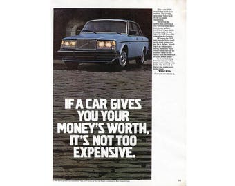 vintage magazine ad for a 1980 Volvo - 18