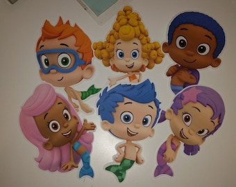 Bubble Guppies Cut outs