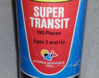 """Vintage 1979 TINKERTOY """"SUPER TRANSIT"""""""