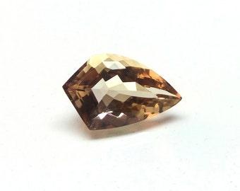Hand Polished Ametrine Fancy Cut Gemstone / 6.60 Carat 18x11x7 mm / Ametrine Stone / Ametrine Gems