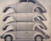1961 advertisement for Volkswagen.