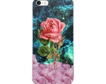Rose Quartz iPhone case -Phone 7 case, 7 Plus, iPhone 6s case, iPhone 6 case, iPhone 6 Plus case