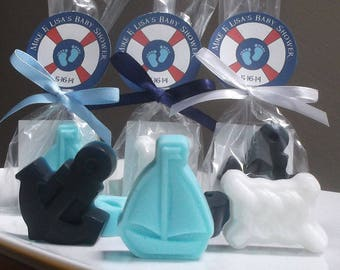 Nautical Baby Shower - Nautical Baby Favors, Nautical Baby Shower Favors, Nautical Shower, Girl Baby Shower, Boy Baby Shower - Set of 10