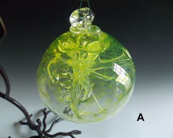 Hand Blown Glass Witch Ball