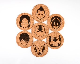 Avatar: The Last Airbender | Coasters (Set of 7)