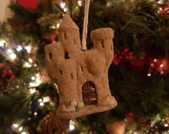 Whimsical 'Sand Castle' Ornament