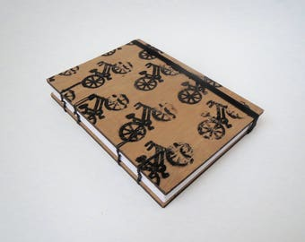 Wooden Journal | Wooden Notebook | Wood Journal | Wood Notebook | Bike Gift | Bicycle Gift | Blank Pages | Travel Journal | Wood Gift