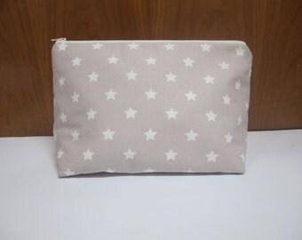 Zipper pouch, zipper bag, newborn, baby gift, for makeup, baby creams, multi-purpose bag