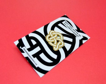 Knotted Up Enamel Pin