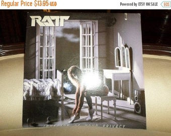 Save 30% Today Vintage 1985 Vinyl LP Record Ratt Invasion of Your Privacy Excellent Condition 8831