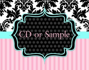 Sample Request OR CD Disc