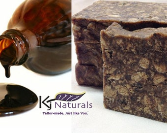 Liquid African Black Soap 100% natural. Traditionally used for eczema, acne, dark spots, dryness & sensitive skin.