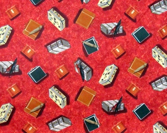 Luggage Fabric Rail King Fabric From VIP 100% Cotton