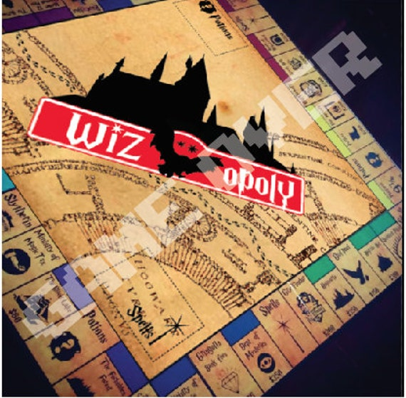 Wizopoly like Harry Potter AUS