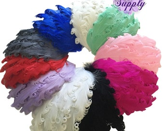 Nagorie Feather Pads, Nagorie Pads, Feather Puffs, Marabou Feathers, Curly Feathers, Feather BOA, Wholesale Feather Puffs, Choose Colors