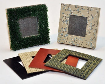 """4""""x4"""" Square Magnetic Picture Frames"""